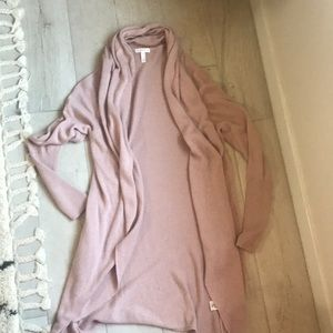 Used Leith XS blush pink cardigan